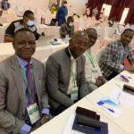 La délégation ivoirienne